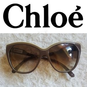 Chloé Tilia Brown Tinted Sunglasses